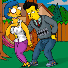 Milhouse's mom has sex with a younger man xl-toons.win