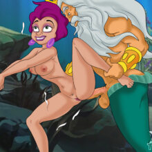 King Triton having hard sex with a mature mermaid lady xl-toons.win