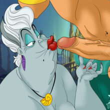Ursula Having Kinky Underwater Sex With King Triton xl-toons.win