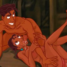 Tiana loves getting fucked hard by her Prince Naveen xl-toons.win