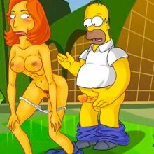 Homer cheats on Marge with a sexy redhead babe xl-toons.win