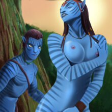 Sexy blue natives of Pangea uncover their sex secrets xl-toons.win