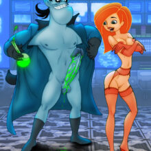 Kim Possible Plays With Dr. Drakken's Growth Serum xl-toons.win