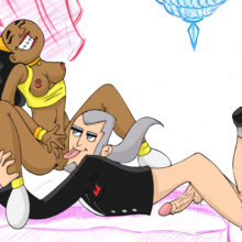 Valerie having hot interracial sex with the evil Vlad Masters xl-toons.win