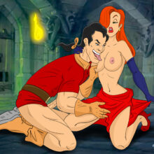 Jessica Rabbit Gets Anal From Gaston xl-toons.win